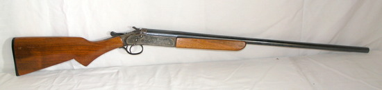 """Collector Iver Johnson """"Champion"""" 20 Gauge Single Shot with Hammer and Waln"""
