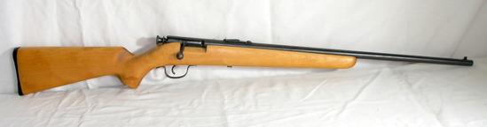Springfield Savage Model-120-A 22 Caliber Single Shot Bolt Action. Estimate