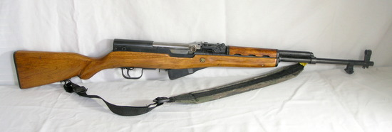 762.39 Military Rifle. Camo Sling and Matching Serial Numbers. S/N 13284. E
