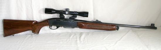 Remington Model-742 30-06 Semi Automatic with Bushnell see thru 4x Scope. E