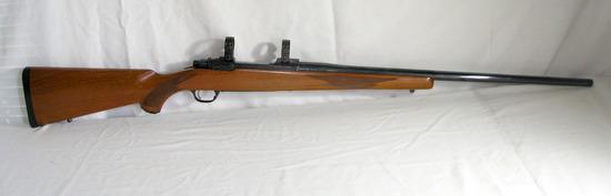 Ruger 77R Mark-II 300 WIN Mag. Left hand stainless steel bolt. Estimated Va