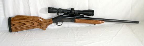 H&R Model SB2 Ultra 308 Winchester. 3x9 Tasco Scope. Heavy Bull Barrel. Est