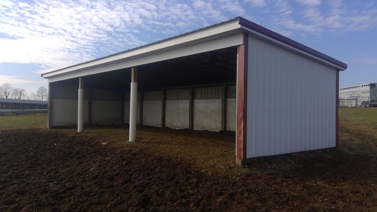 15'x 45' Run In Shed