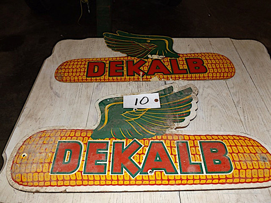 Dekalb Seed Corn Signs