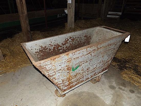 4 wheel feed cart