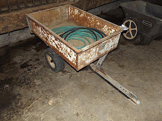 Agri Fab 10 cu. foot yard trailer