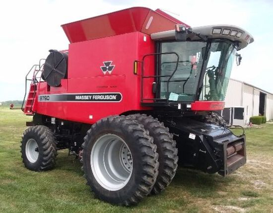 Public Auction- VERY Nice! Combine, Tractors, MORE