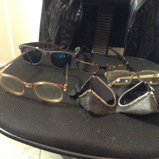 Accessories - Designer - Sunglasses; 5 Pair of Sunglasses