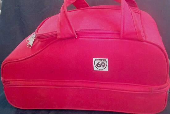 Accessories - Baggage - Unisex; Red Route 69 Luggage