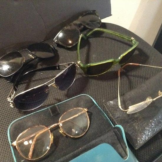 Accessories - Designer - Sunglasses; 5 Pair Of Sunglasses
