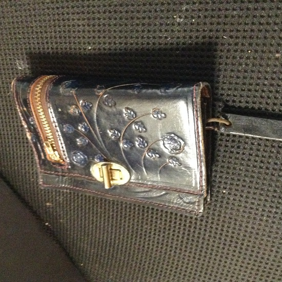 Accessories - Designer - Women; Dark Brown Leather Wallet