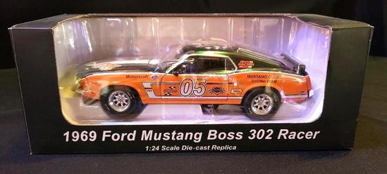 Harley Davidson 1969 Ford Mustang Boss 302 Racer
