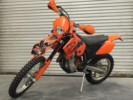 2006 KTM 400 EXC Motorcycle