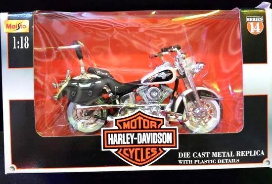 DIE CAST Replica Harley Davidson Motorcycle