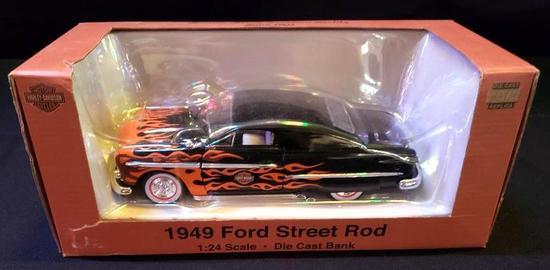 Harley Davidson 1949 Ford Street Rod