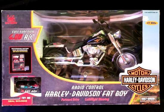 Radio Control Harley Davidson Fat Boy