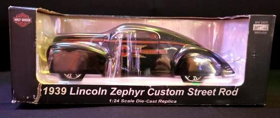 Harley Davidson 1939 Lincoln Zephyr Custom Street Rod