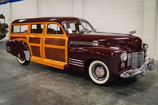 1941 Cadillac Series 61 Woodie Station Wagon