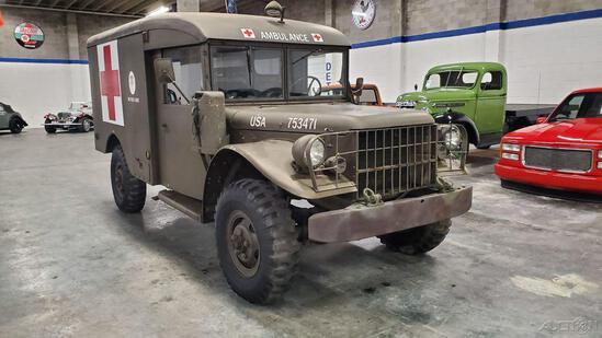 1963 Dodge M-43B1 Ambulance