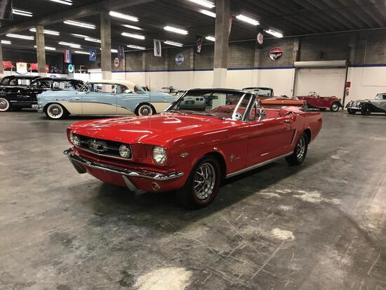 1965 Ford Mustang K Code Convertible