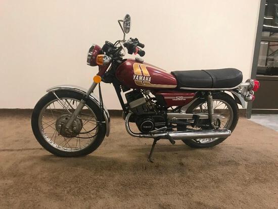 1975 Yamaha RD125