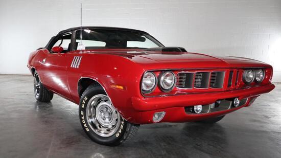 1971 Plymouth Cuda Convertible