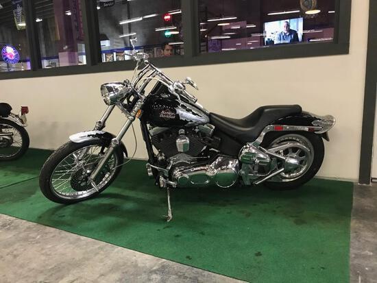 2001 Harley Davidson Softail Motorcycle