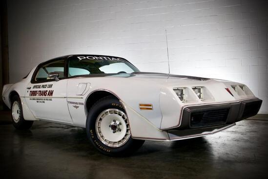 1980 Pontiac Firebird Pace Car
