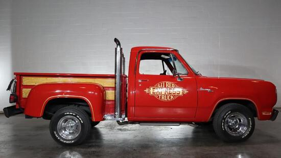 1979 Dodge Lil Red Express 360