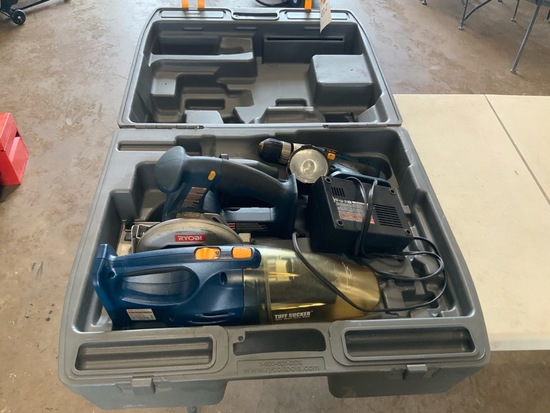 Ryobi 18V tool Set Need battery (works)