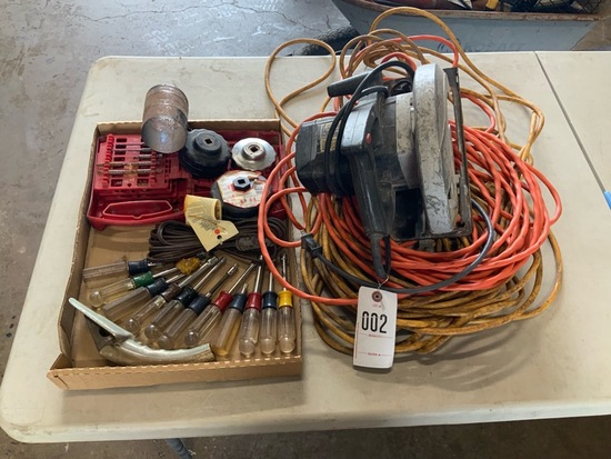 Craftsman Nut Drivers, Skill saw & Extension Cords