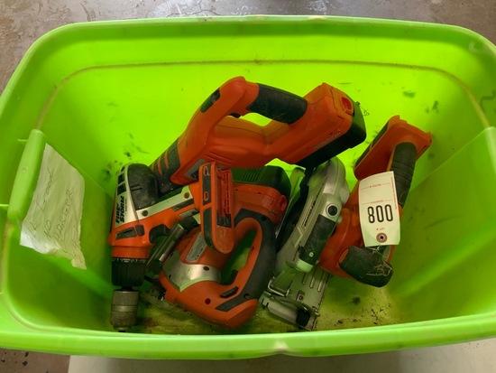 Black & decker power tool set