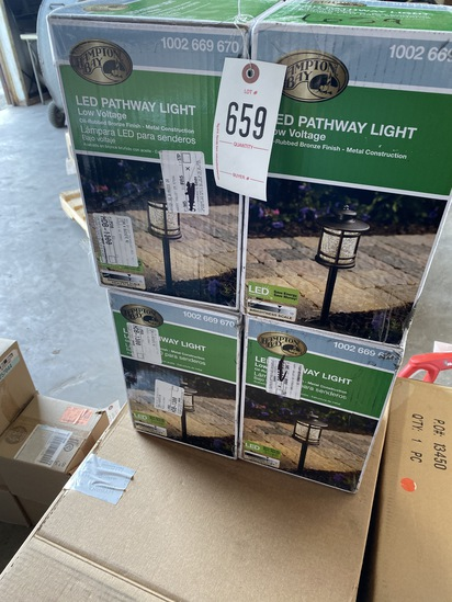 New 4 Boxes Pathway Lights