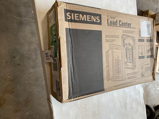 125 Amps Siemens Breaker Box box 20 circuits