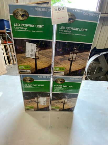 4 Boxes New LED Patway lights