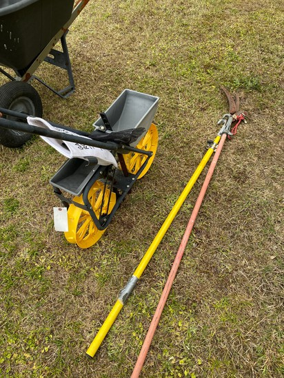 Row Planter & 2 Tree Trimmers