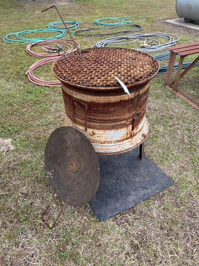 Fire Pit with pen