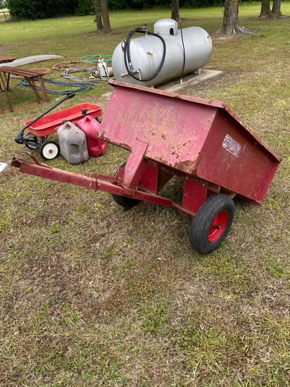Load Hog Lawn mower tilt trailer