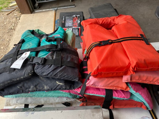 Bundle of Life Jackets