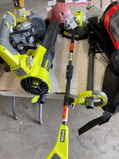 Ryobi 40V Blower & 18V Edger works