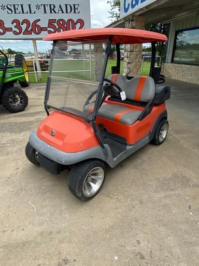 Club Car 36V Kubota Orange runs with charger