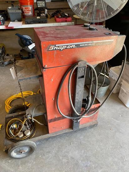 Snap on Ya205 Mig Welder 220V Works