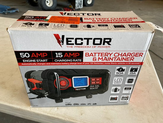 Vector Battery Charger & maintainer