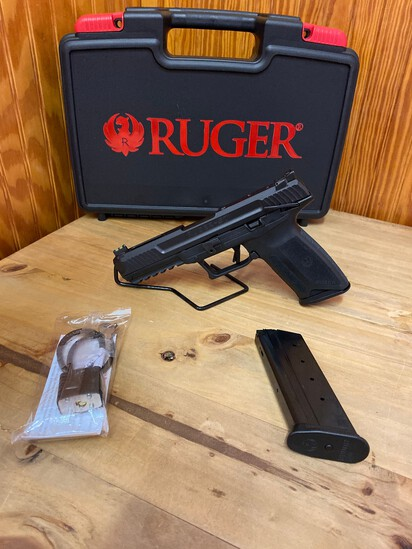 """New Ruger 5.7x28 5"""" Barrel 2-20 Round Mags SN#643-37939"""