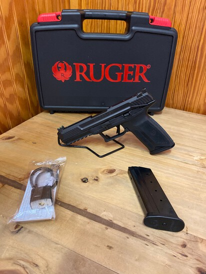 """New Ruger 5.7x28 5"""" Barrel 2-20 Round Mags SN#643-37929"""