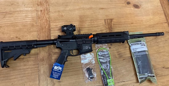 New Smith & Wesson 556 M&P 15 Sport With Optic Serial#TT58258