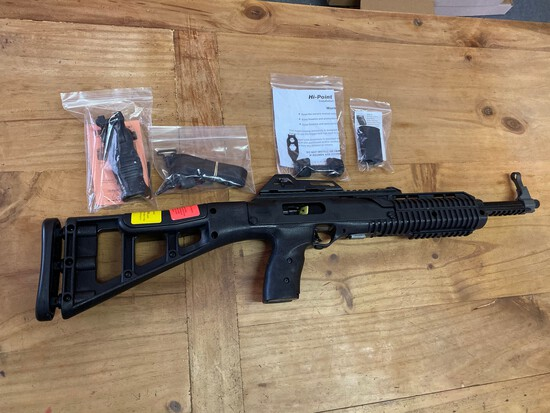 New High Point 9 MM Carbine with Forward Grip & Pistol Grip Cover SN#F223175