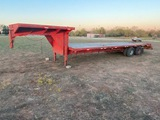 25' Gooseneck with 5' Dove Tail with 8' Top Deck