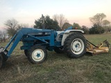 Ford F-119 4x4 Tractor with Brush Hog