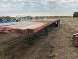 48' Flatbed Semi Trailer Float.